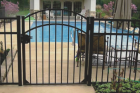 Steel and aluminum fencing has become the new normal to get that ornamental wrought iron look at your property. Ornamental fences come in steel and aluminum and a great for adding value to your property while also making certain areas secure and private. Call today to get a FREE bid on a steel or aluminum fence.