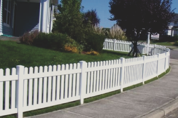Vinyl fencing is a great choice if you are looking to add beauty to your home as well as provide privacy and security! Vinyl comes in a variety of style and color options and is a great fence when you are looking to increae the value of your property. Call us today if you want to isntall a vinyl fence!